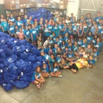 Camp Helping Hands stuffed 1000 Bags