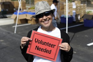 So many great volunteers helped at the Do-Good Stuff-a-Thon!