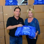 Thanks to Mark Asofsky, left, founder of Shop2Care